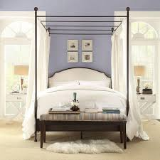 40 Luxury King Size Four Poster Metal Bed Frame Photograph | bed king