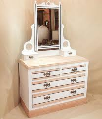 Modern Dressing Table Designs For Bedroom Modern Mirror Vanity Make Up Table With Trifold Mirror And Drawers