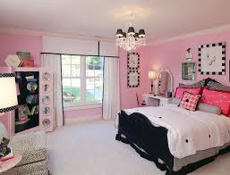 bedroom ideas for young adults girls. Exellent Adults Charming Bedroom Ideas For Young Adults Modern Teenage  Pink Black White Inside Girls M