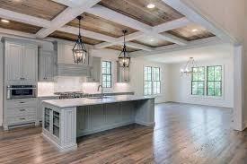 Wood ceiling kitchen Wood Beams Coffered Kitchen Wood Ceiling Ideas Next Luxury Top 60 Best Wood Ceiling Ideas Wooden Interior Designs