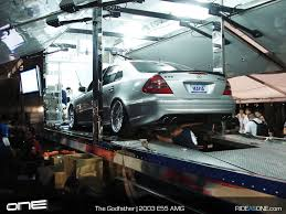 Stock 2003 Mercedes-Benz E55 AMG Dyno Sheet Details - DragTimes.com