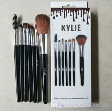 hot kylie jenner makeup brushes foundation powder eyeshadow brush high quality top synthetic hair brush set best makeup s makeup brushes