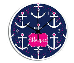 wooden anchor wall clock anchor wall clock philippines anchor wall clock for medium image for