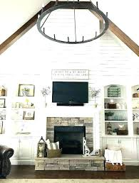 vaulted ceiling decorating ideas living room fireplace lovely coffee table pool cathedral corner fireplac