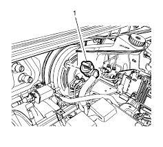 12 gamma vacuum booster hose and valve sensor remove