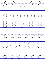Alphabet Letters Learning To Write - Letters Font
