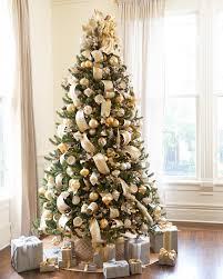 Designer Christmas Tree Ribbon Shimmering Metallic Christmas Tree Ribbon
