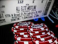 Aew Liacouras Center Seating Chart Philadelphia Wrestling Tickets For Sale Ebay
