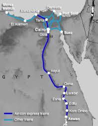 train in egypt cairo luxor aswan