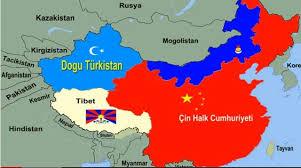 Xinjiang İli Kazak Oblastı haritası ile ilgili görsel sonucu