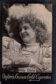 Cigarette Card - Actress, Hilda Clarke | Ogden's Guinea Gold… | Flickr