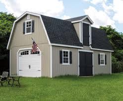 two story dutch barn sheds md pa