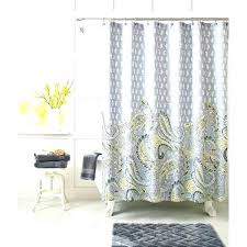 white and grey shower curtain black white grey shower curtain yellow shower curtain target medium size