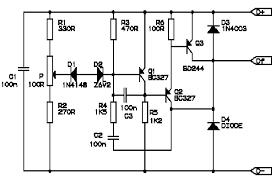 alternator voltage regulator circuit diagram alternator automotive u003e automotive circuits u003e automotive electrical tester on alternator voltage regulator circuit diagram