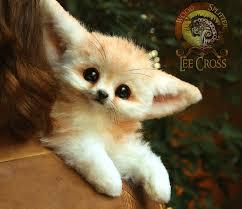 baby fennec fox. Plain Fennec Sold Poseable Baby Fennec Fox By WoodSplitterLee  On Fox E