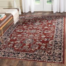 safavieh artisan rust navy 4 ft x 6 ft area rug