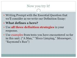 how we will support our definition essay strategies of definition  8 now