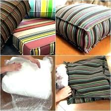 outdoor patio cushion slipcovers seat cushion slipcovers outdoor how to make outdoor