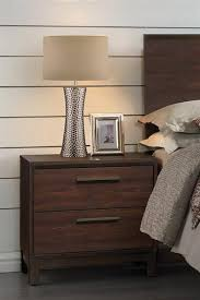 rustic furniture edmonton. edmonton rustic tobacco nightstand from coaster furniture free delivery t