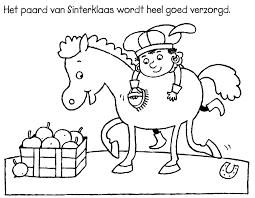 Sinterklaas Kleurplaten Makkelijk