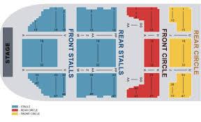 Seating Plan O2 Manchester