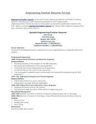 sample of resume for summer job standard resume format for engineering  students template sample resume for