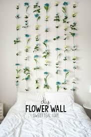 diy flower wall headboard tutorial diy headboard cheapheadboard  on wall art bedroom diy with diy flower wall headboard home decor pinterest wall