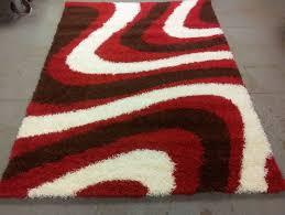 large red rugs argos