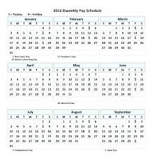 Payroll Calendar Template Gorgeous Bi Weekly Calendar Template Blank Monthly Excel Email In French Tem