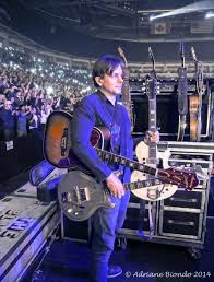 Guitar Technician Wksu News The Black Keys Guitar Techs Moment In The Spotlight