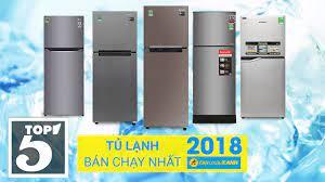Samsung dẫn đầu Top 5 tủ lạnh bán chạy nhất Điện máy Xanh 2018 - YouTube