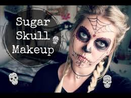 easy sugar skull makeup tutorial for beginners day of the dead