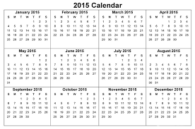 Calendar Template Printable 2015 60 Best 2015 Yearly Calendar Templates To Download Print Free