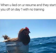 When You Lie On Your Resume Me irl Imgur 11
