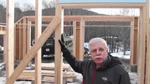 how to frame a garage doorFraming a Door  YouTube