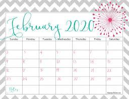 Free 2020 Calendar Keeping Life Sane
