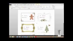 Word 2013 Label Template How To Print Labels From A Free Template In Microsoft Word 2013