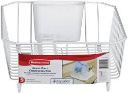 Dish Drying Rack Walmart New Rubbermaid Twin Sink Dish Drainer White Walmart Canada