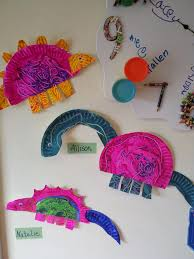 Paper plate dinosaur craft idea for kids | Crafts and Worksheets ...