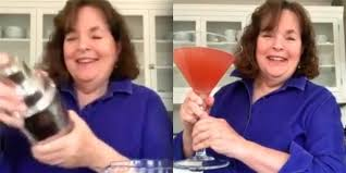 Ina Garten's giant cosmo cocktail is just what we needed today