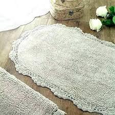 organic cotton rug rugs oval bathroom bath mat rag made in