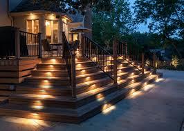 deck lighting yard lighting pathways lights outdoor lighting