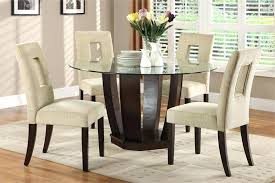glass kitchen table set round glass dining table design ideas round glass kitchen table with regard