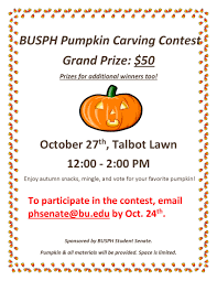 Pumpkin Carving Contest Flyers Busph Pumpkin Carving Contest Oct 27th On Talbot Green Sph