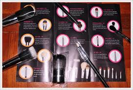 plete makeup brush set budget brushes uy 10 sigma included a phlet with all their brush their uses