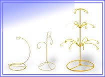 Ornament Hanger Display Stand Small Display Stands Bases And Easels Ornament And Egg Display 70