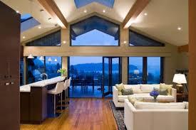 lighting for vaulted ceilings. Open Floor Kitchen Vaulted Ceiling With Recessed Lighting For Ceilings D