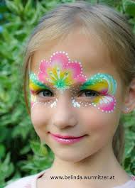 gorgeous colour combo pretty princess face painting ideas for kids mehr