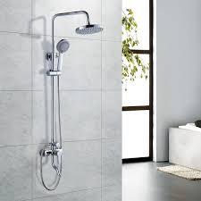 Brausegarnitur Duschsystem Wasserfall Regendusche Set Duscharmatur Duschsäule Kopfbrause Mit Wasserhahn Handbrause Duschkopf