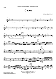 pachelbel canon violin sheet music canon part 2 flute oboe or violin sheet music for piano and